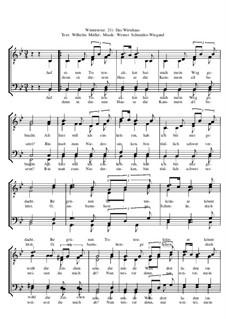 Winterreise, Nr.73-100, Op.23: Nr.40 Das Wirtshaus by Werner Schneider-Wiegand