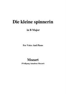 Die kleine Spinnerin, K.531: B Major by Wolfgang Amadeus Mozart