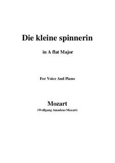 Die kleine Spinnerin, K.531: A flat Major by Wolfgang Amadeus Mozart