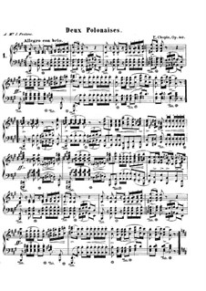 Polonaises, Op.40: set completo by Frédéric Chopin