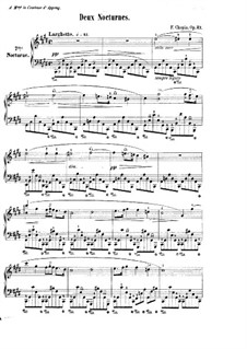 Nocturnes, Op.27: set completo by Frédéric Chopin