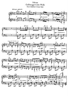 No.6 Golliwogg's Cakewalk: Para Piano by Claude Debussy