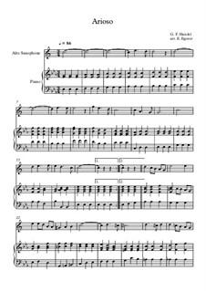 10 Easy Classical Pieces For Alto Saxophone & Piano Vol.3: Arioso by Edward MacDowell, Johann Strauss (Sohn), Johannes Brahms, Georg Friedrich Händel, Felix Mendelssohn-Bartholdy, Robert Schumann, Muzio Clementi, Giuseppe Verdi, Anton Rubinstein, Johan Halvorsen