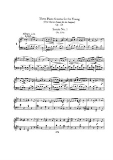 Sonatas for the Young, Op.118: set completo by Robert Schumann
