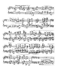 Barcarolle No.5 in F Sharp Minor, Op.66: Para Piano by Gabriel Fauré