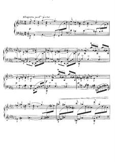 Barcarolle No.8 in D Flat Major, Op.96: Para Piano by Gabriel Fauré