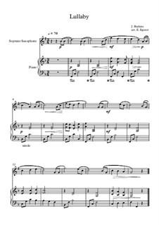 10 Easy Classical Pieces For Soprano Saxophone & Piano Vol.3: canção de ninar by Edward MacDowell, Johann Strauss (Sohn), Johannes Brahms, Georg Friedrich Händel, Felix Mendelssohn-Bartholdy, Robert Schumann, Muzio Clementi, Giuseppe Verdi, Anton Rubinstein, Johan Halvorsen