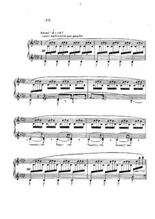 No.3 Le vent dans la plaine: Para Piano by Claude Debussy