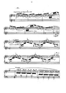 No.11 La danse de Puck: Para Piano by Claude Debussy