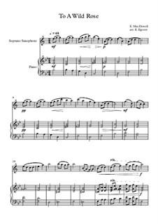 10 Easy Classical Pieces For Soprano Saxophone & Piano Vol.3: To A Wild Rose by Edward MacDowell, Johann Strauss (Sohn), Johannes Brahms, Georg Friedrich Händel, Felix Mendelssohn-Bartholdy, Robert Schumann, Muzio Clementi, Giuseppe Verdi, Anton Rubinstein, Johan Halvorsen