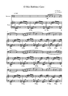 10 Easy Classical Pieces For Bassoon & Piano Vol.4: O Mio Babbino Caro by Johann Sebastian Bach, Tomaso Albinoni, Joseph Haydn, Wolfgang Amadeus Mozart, Franz Schubert, Jacques Offenbach, Richard Wagner, Giacomo Puccini, folklore