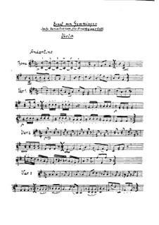 Six Variations on an Original Theme for String Quartet: parte viola by Ernst von Gemmingen