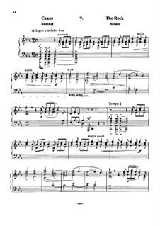 À Argenteau, Op.40: No.9 Le rocher (The Rock) by César Cui