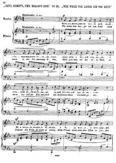 Twenty-Five Poems by Pushkin, Op.57: No 15 by César Cui