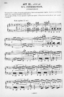 Rienzi, the Last of the Tribunes, WWV 49: Acto III. Arranjo para vozes e piano by Richard Wagner