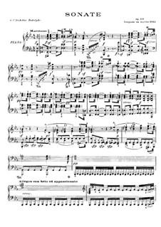 Sonata for Piano No.32, Op.111: para um único musico (Editado por H. Bulow) by Ludwig van Beethoven