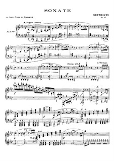 Sonata for Piano No.23 'Appassionata', Op.57: For a single performer by Ludwig van Beethoven