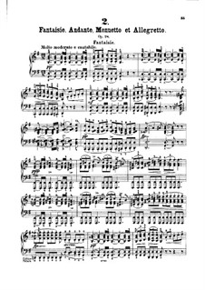 Sonata for Piano No.18 in G Major, D.894 Op.78: movimentos I-II by Franz Schubert