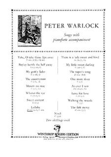 Lullaby: canção de ninar by Peter Warlock