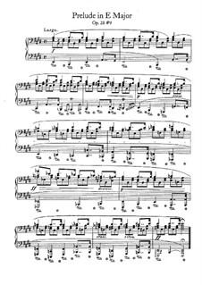 No.9 in E Major: Para Piano by Frédéric Chopin