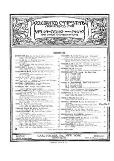 Woodland Echoes, Op.34: versão para violino e piano by Addison Wyman