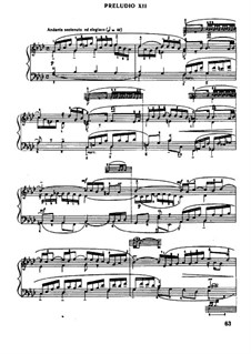 Prelude and Fugue No.12 in F Minor, BWV 857: Para Piano by Johann Sebastian Bach