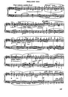 Prelude and Fugue No.22 in B Flat Minor, BWV 891: Para Piano by Johann Sebastian Bach