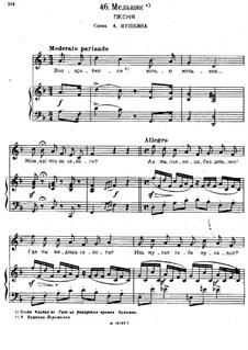 Songs and Romances (Book I), Nos.24-50: No.46 Miller by Alexander Dargomyzhsky