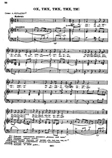 Songs and Romances (Book II): No.7 by Alexander Dargomyzhsky