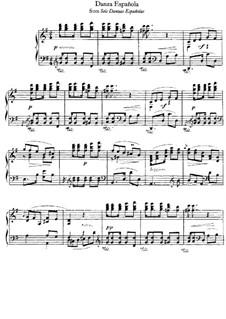 Six Spanish Dances, Op.37: eletronica No.4 by Isaac Albéniz