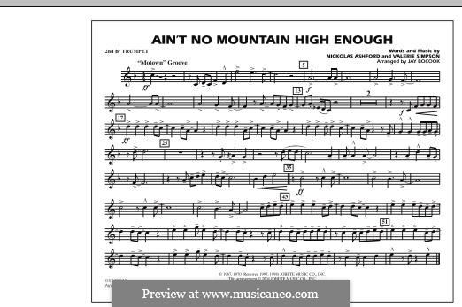 Marching Band version: 2nd Bb Trumpet part by Nicholas Ashford, Valerie Simpson