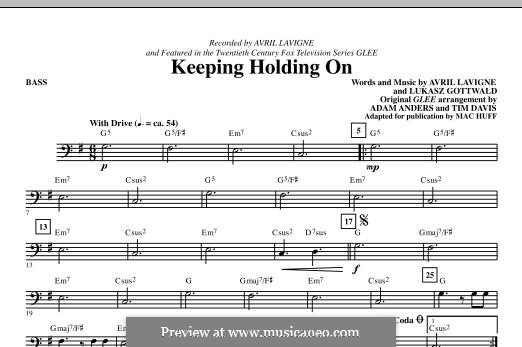 Keep Holding On: parte baixo by Avril Lavigne, Lukas Gottwald
