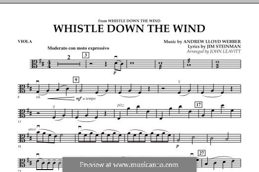 Whistle Down the Wind (from Whistle Down the Wind): parte viola by Andrew Lloyd Webber