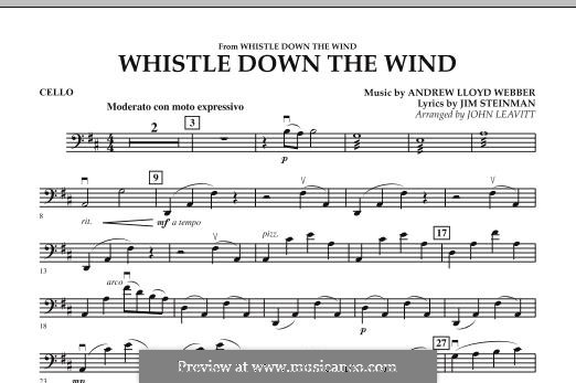 Whistle Down the Wind (from Whistle Down the Wind): parte violoncelo by Andrew Lloyd Webber
