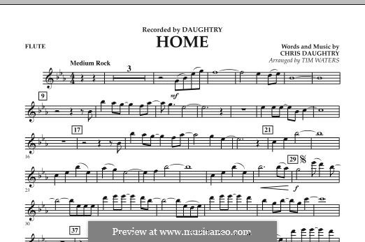 Home (Daughtry): parte flauta by Chris Daughtry