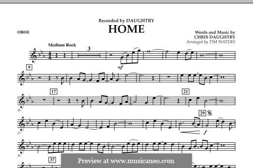 Home (Daughtry): parte Oboe by Chris Daughtry