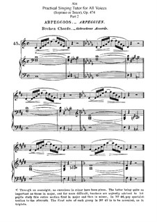 Practical Singing Tutor for All Voices, Op.474: Singing Tutor for Soprano or Tenor. Movement II by Franz Wilhelm Abt