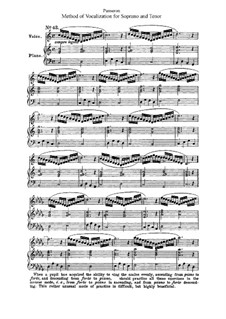 Method of Vocalization for Soprano and Tenor: parte II by Auguste-Matthieu Panseron