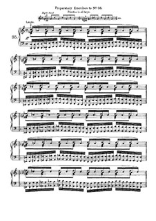 Sixty Exercises for Piano: No.35-60 by Josef Pischna