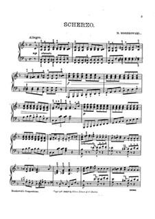 Five Pieces for Piano, Op.18: No.2 Scherzo by Moritz Moszkowski