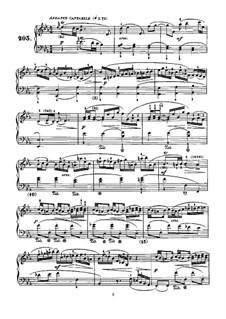 Sonata No.203 in E Flat Major, K.474 L.203 P.502: Para Piano by Domenico Scarlatti