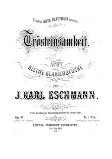 Trösteinsamkeit, Op.37: peça No.1 by Johann Carl Eschmann