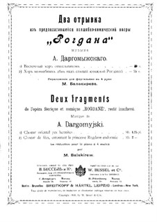 Rogdana. Two Choirs: Rogdana. Two Choirs by Alexander Dargomyzhsky
