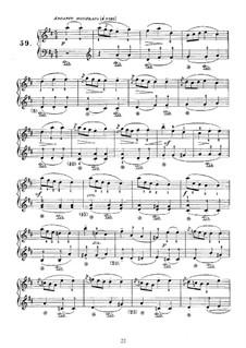 Sonata No.59 in D Major, K.164 L.59 P.274: Para Piano by Domenico Scarlatti