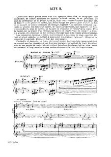 La farce du cuvier: act II, para vozes e piano by Gabriel Dupont