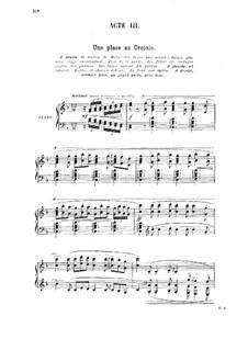 La glu: ato III,para vozes e piano by Gabriel Dupont