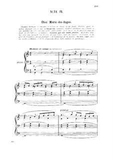 La glu: ato IV para voz e piano by Gabriel Dupont
