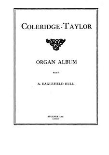 Organ Album: livro II by Samuel Coleridge-Taylor