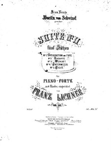 Suite No.2 in E Minor for Orchestra, Op.115: Suite No.2 in E Minor for Orchestra by Franz Paul Lachner