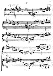 Douze Etudes de Salon, Op.5: estudos selecionados by Adolf von Henselt